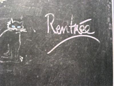 RENTRÉE
